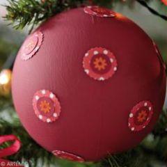 Achetez du mat riel pour votre bricolage de noel avec les enfants des id es pour pr parer no l - Boule de noel a fabriquer en polystyrene ...