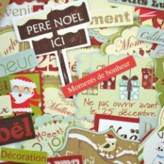 fabriquer une carte de noel en scrapbooking gabarit. Black Bedroom Furniture Sets. Home Design Ideas