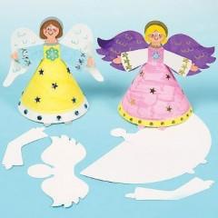 ange noel loisirs créatifs à décorer à peindre ou coller des paillettes des sequins activités manuelles enfant catéchisme facile.jpg
