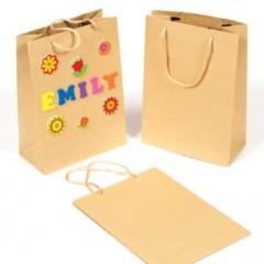 Noel fabriquer un sac d 39 emballage de cadeau original - Fabriquer un sac en papier magazine ...