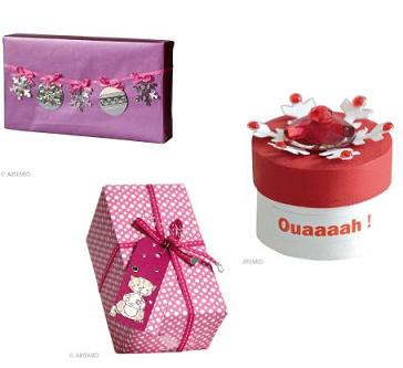Noel fabriquer un sac d 39 emballage de cadeau original - Cadeau pour noel a fabriquer ...