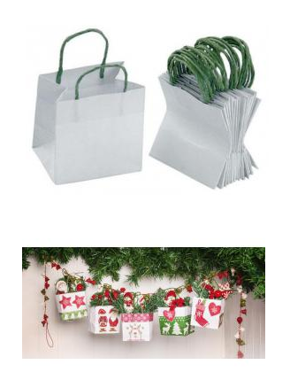 Connu Noel : fabriquer un sac d'emballage de cadeau original - bricoler  RO05