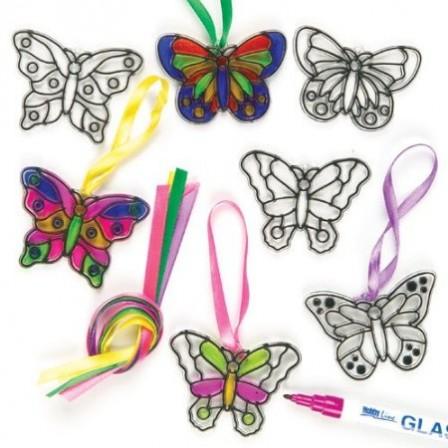 activit s manuelles avec les enfants fleurs et papillons d corer pour enfant de 5 12 ans. Black Bedroom Furniture Sets. Home Design Ideas