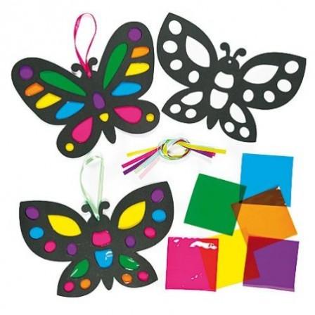 Activit s manuelles avec les enfants fleurs et papillons - Papillon maternelle ...
