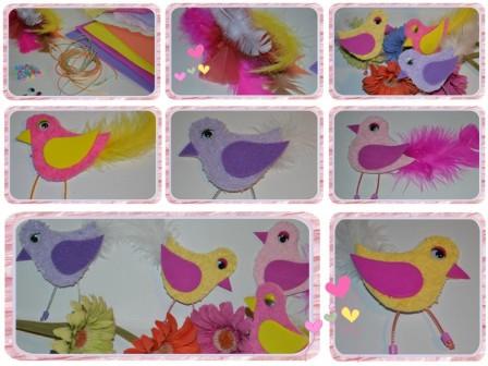 activit s maternelle printemps id es bricolage de printemps avec les enfants bricolage oiseau. Black Bedroom Furniture Sets. Home Design Ideas