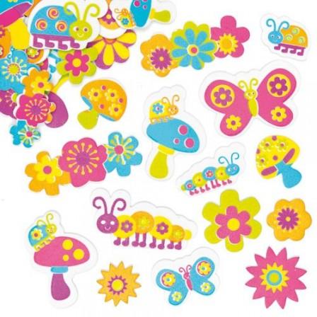 Id e bricolage avec les petits pour f ter l 39 arriv e du - Fleur a colorier et a decouper ...
