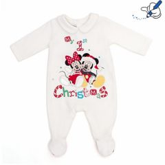 c4d450630c0fd pyjama noel mixte fille ou garçon mickey noel disney pyjama blanc noel  enfant 0 au 18