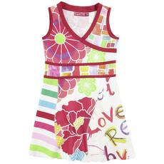 01bb0c0197eee desigual robe cache coeur pour fille 2 ans, 3 ans, 4 ans, 5