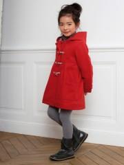 duffle coat manteau fille 2 ans au 10 ans mode hiver. Black Bedroom Furniture Sets. Home Design Ideas