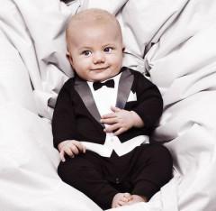 e784cccb96da9 vêtement noel petit garçon veste noire et cravate pour reveillon mode  enfant noel pas cher bébé