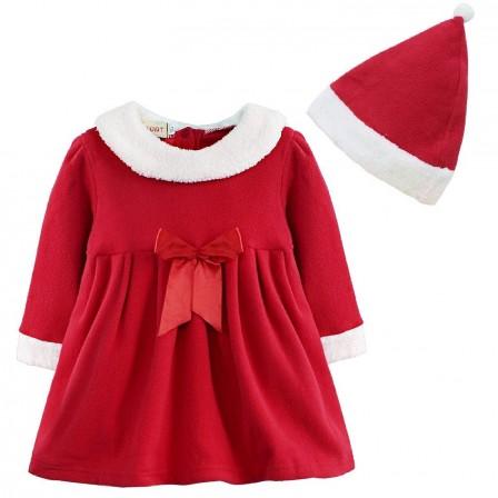 Mode enfants for Robe de noel rouge