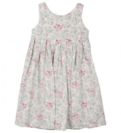 f14ef1e23107b robe pas cher petite fille du 3 au 12 ans sans manche a bretelles imprime fleur grise et rose mode classique.jpg