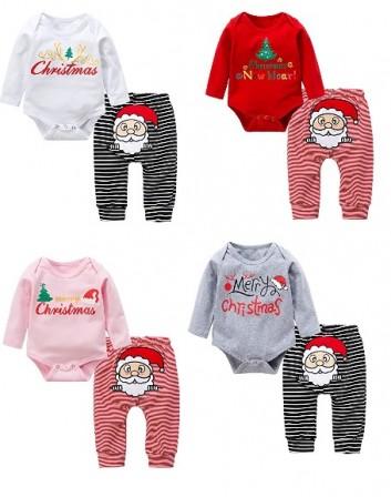 88ef1194af7b3 Body imprimé Merry christmas et pantal rayé avec père noel brodé   un  ensemble originale pour bébé pour les fêtes de Nöel 4 coloris au choix    blanc et noir ...