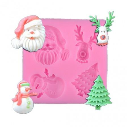 Decoration De Noel En Chocolat Avec Moule