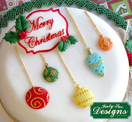 decoration gateau noel