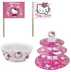 Decoration Anniversaire Fille Hello Kitty
