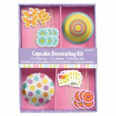 Cupcake et muffin la cuisine cr ative id e d co pour habiller et d corer des cupckakes - Deco pour cupcake ...