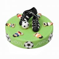 decoration gateau football