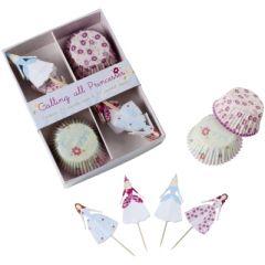 decoration princesse pour gâteau cupcake muffin pic princesse pour goûter anniversaire fille princesse pâtisserie et desserts.jpg