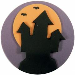 halloween plaque ronde maison hantée à poser sur gâteau decoration gâteau grand modèle.jpg