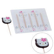 moule sucette chocolat hello kitty sucette fille scrapcooking