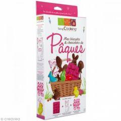 moule et emporte pièce chocolat biscuit paques facile a réaliser moules paques scrapcooking avec sachets pour chocolat.jpg