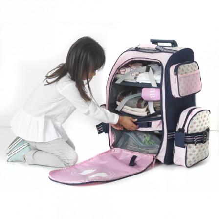 Rangement pour valise