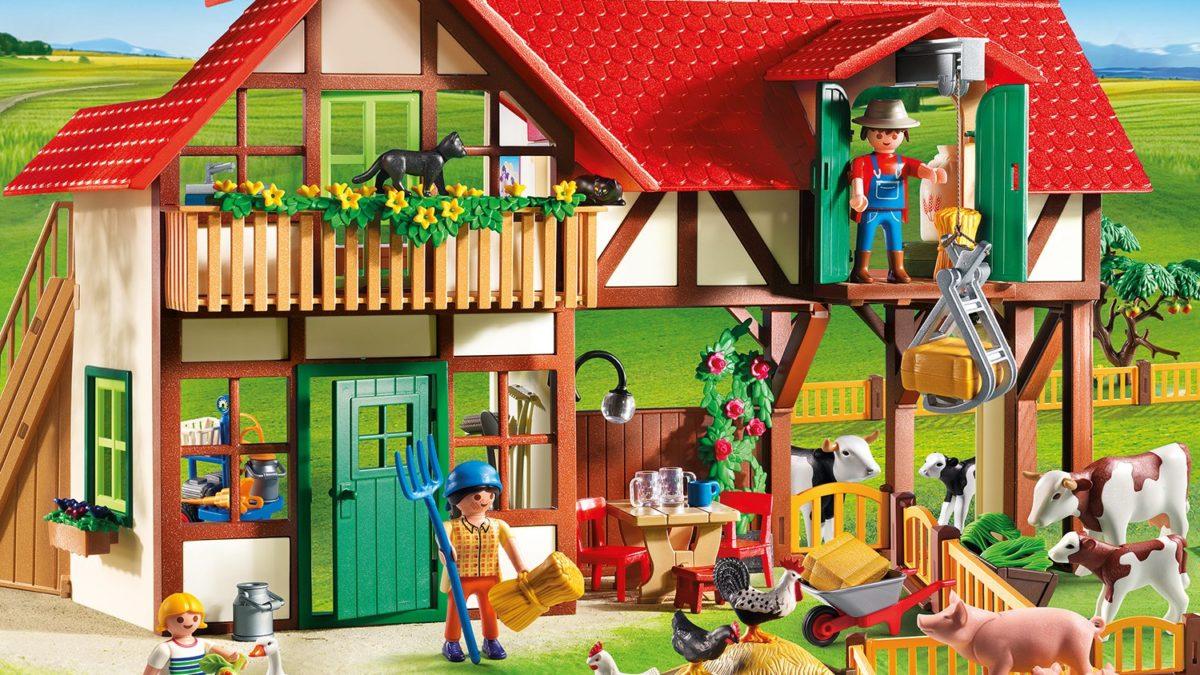 Idée cadeau pour un enfant à partir de 4 ans : la ferme Playmobil