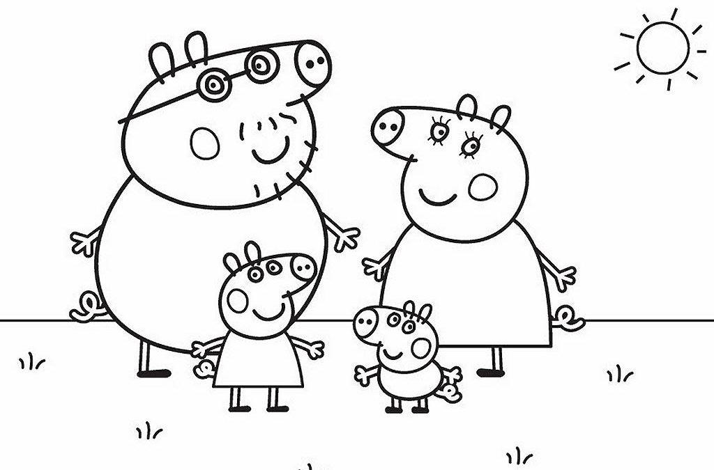 Les nouveaux coloriages de Peppa Pig sont arrivés – Imprimer et colorier les dessins de Peppa Pig