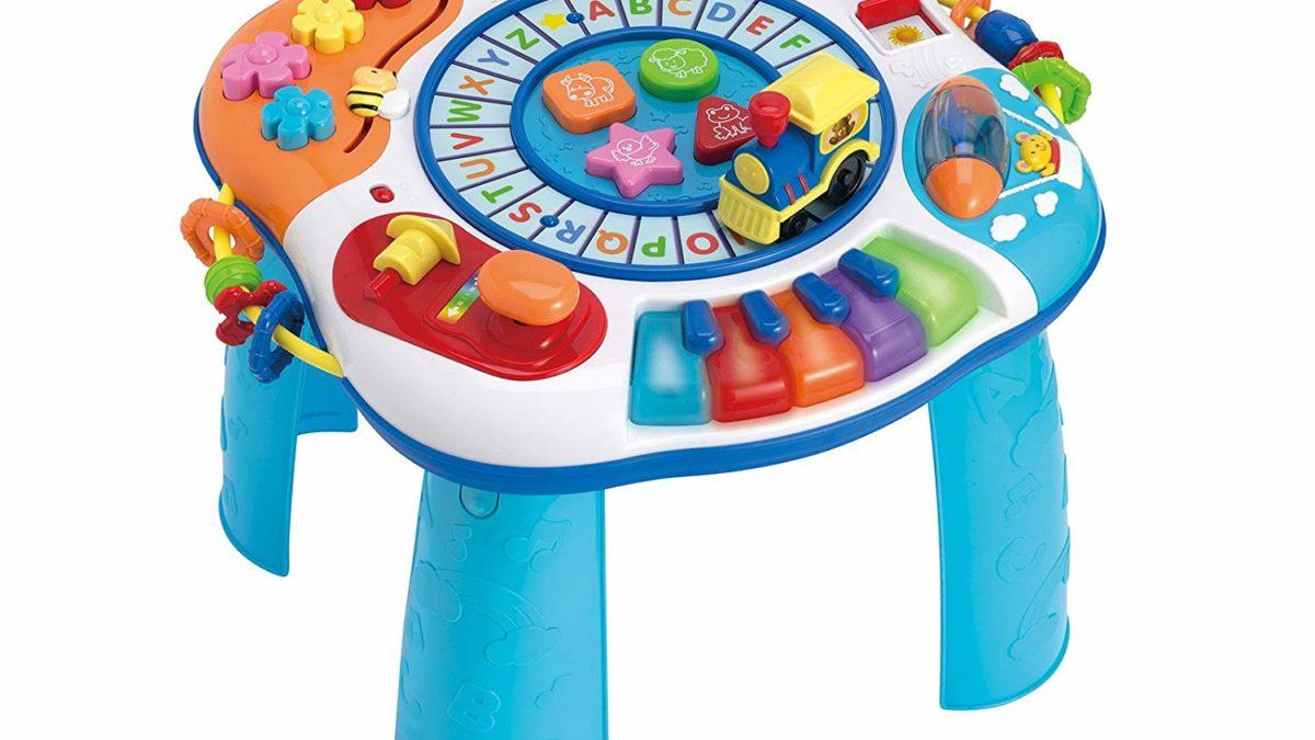 cadeau pour enfant à partir de 12 mois : Table d'Activités Electroniques