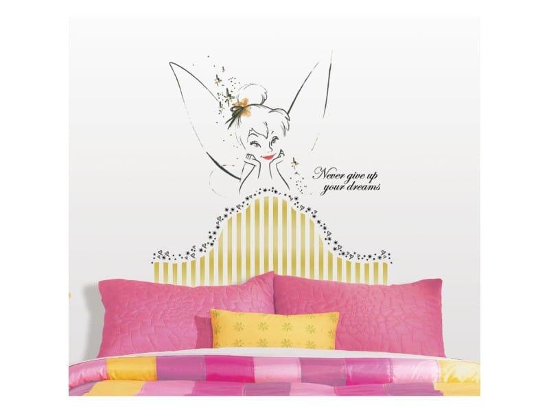 Décoration chambre fille – Préparer la chambre de bébé : stickers fée tu seras