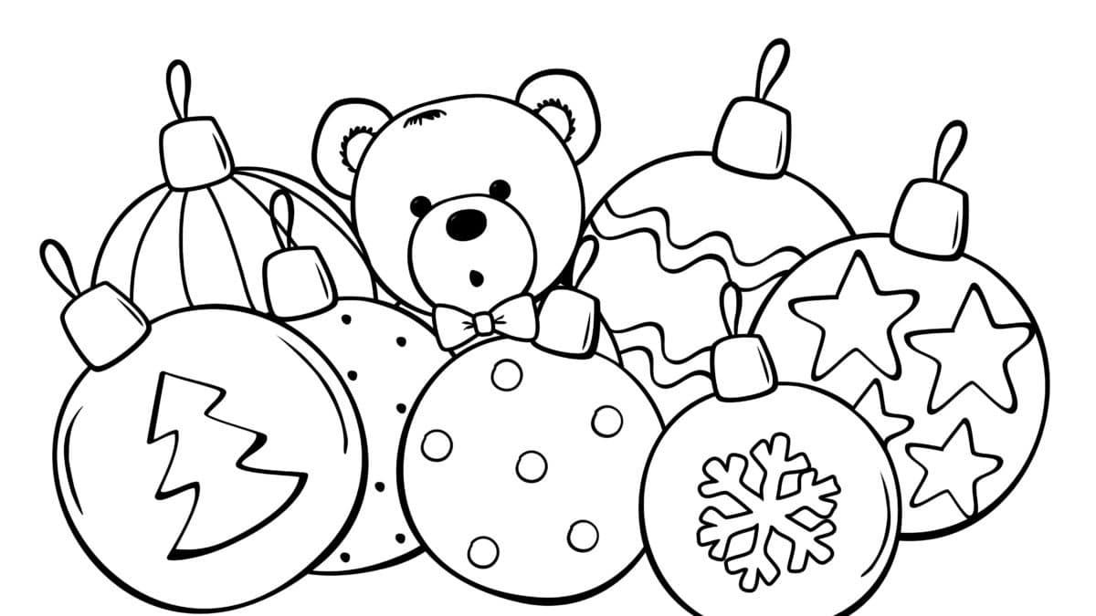 Coloriages Noel chez Un max d'idées – Imprimer et dessiner des coloriages de Noel – Coloriages gratuits pour les enfants