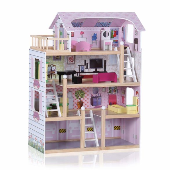 maison en bois jouet enfant