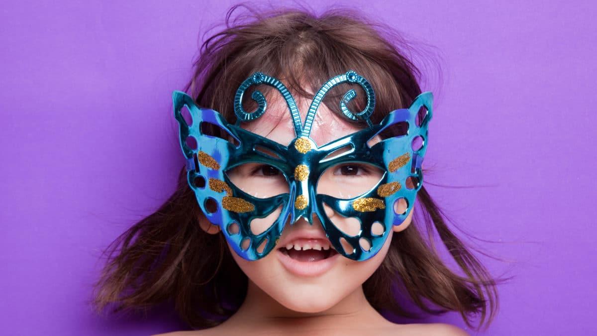 Bricolage pour le carnaval et les fêtes d'enfants : Modèle ou gabarit pour fabriquer des masques d'animaux