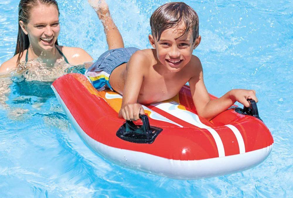 Tapis flottant pour emmener bébé à la piscine – Bébé nageur et sécurité pour jeunes enfants en milieu aquatique