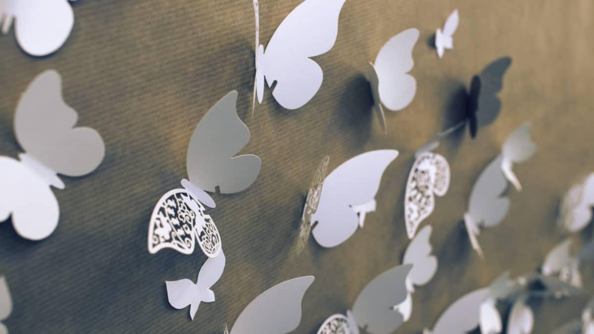 Scrapbooking et papillon – Gabarit papillon pour vos idées de bricolage – Formes de découpe Papillons