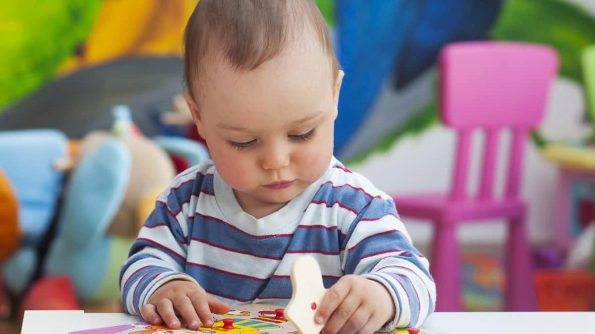 Idée cadeau pour enfant à partir de 18 mois : puzzle encastrable pour composer des animaux – Idée cadeau enfant à – de 12 euros