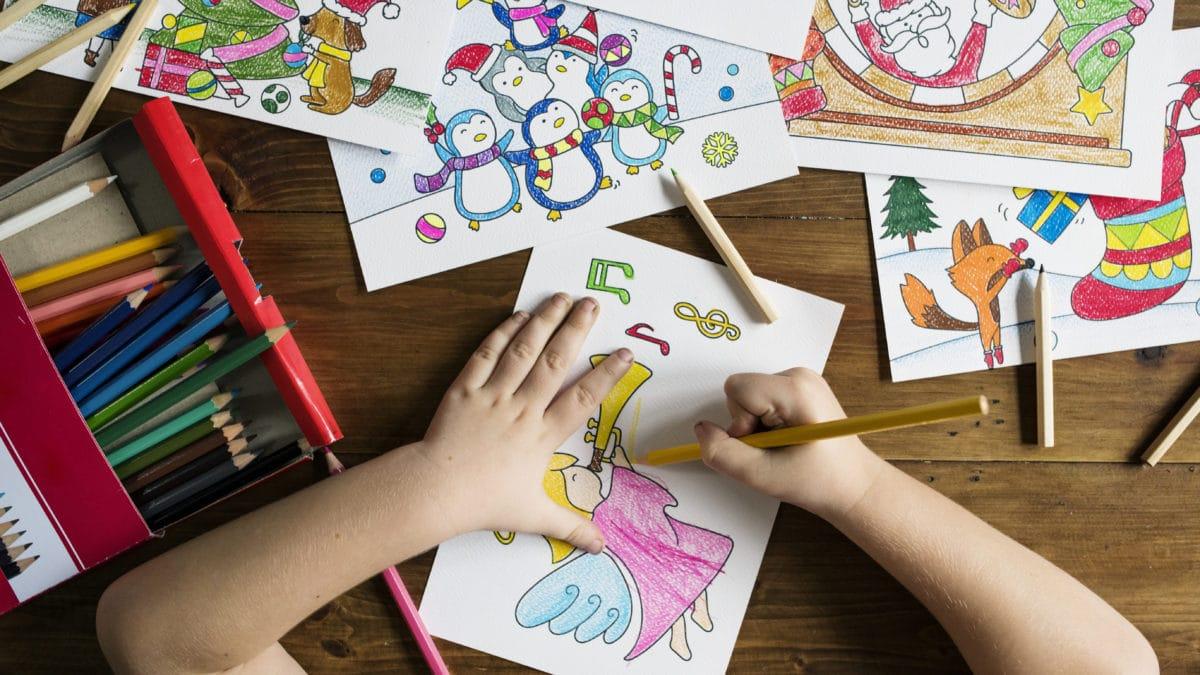 Noël : Coloriages et dessins de noel à imprimer