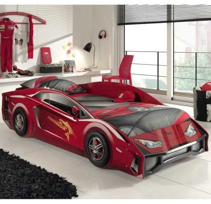 lit voiture enfant – lits pour enfant en forme de voiture de course – Meubles, mobilier chambre enfant et voiture de sport