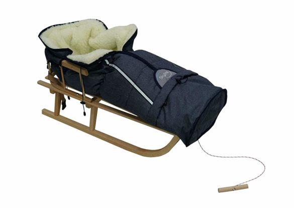 Luge en bois pour bébé