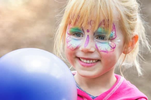 idée pour maquiller le visage d'un enfant
