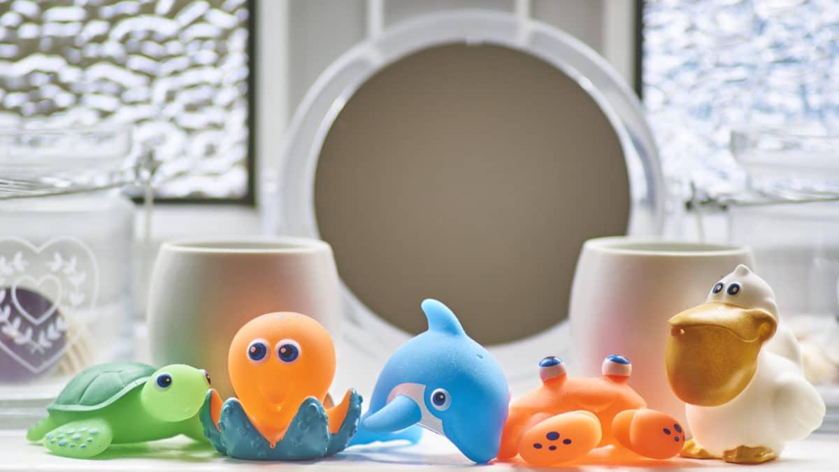 jouets bain bébé, jeu pour le bain de bébé, cadeau jouet de bain bébé pas cher, jouet de bain fille ou garçon