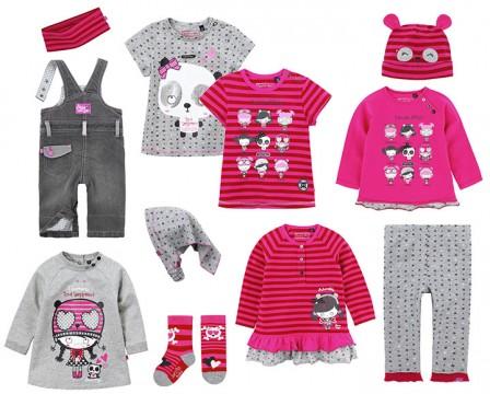Vêtements mode pour petit fille bébé