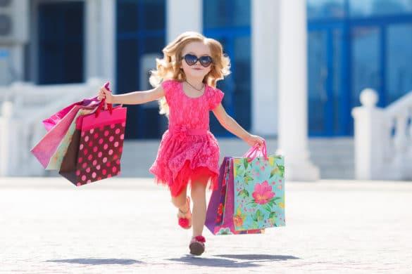Acheter une robe pour une petite fille
