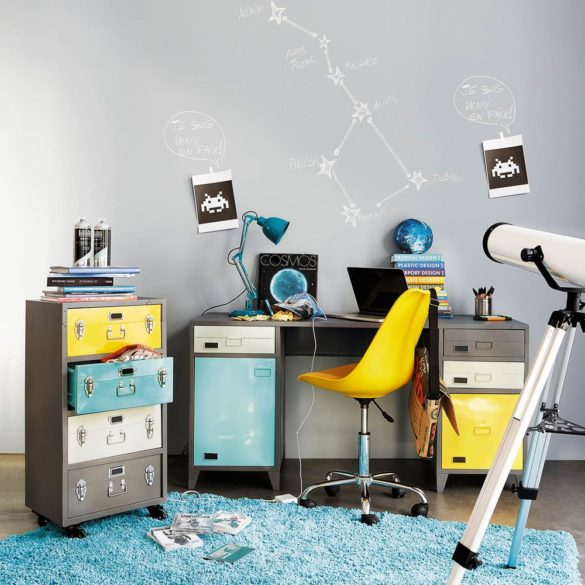 bureau style industriel
