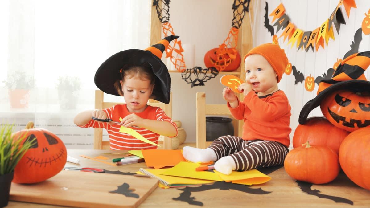 Halloween 👻 : bricolage facile pour enfant, activités manuelles halloween, acheter du matériel pas cher pour Halloween