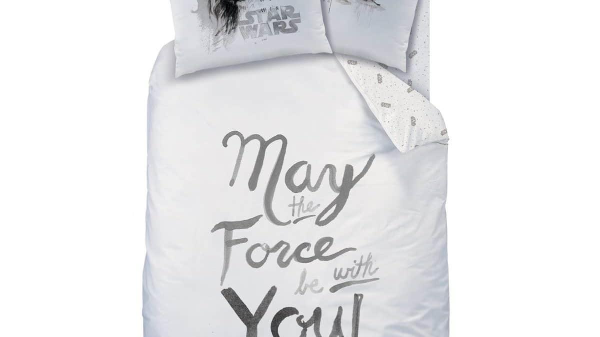 Acheter une housse de couette Star wars pour enfant pas cher – parure de couette star wars 140 x 200 – Linge de lit star wars 1 place