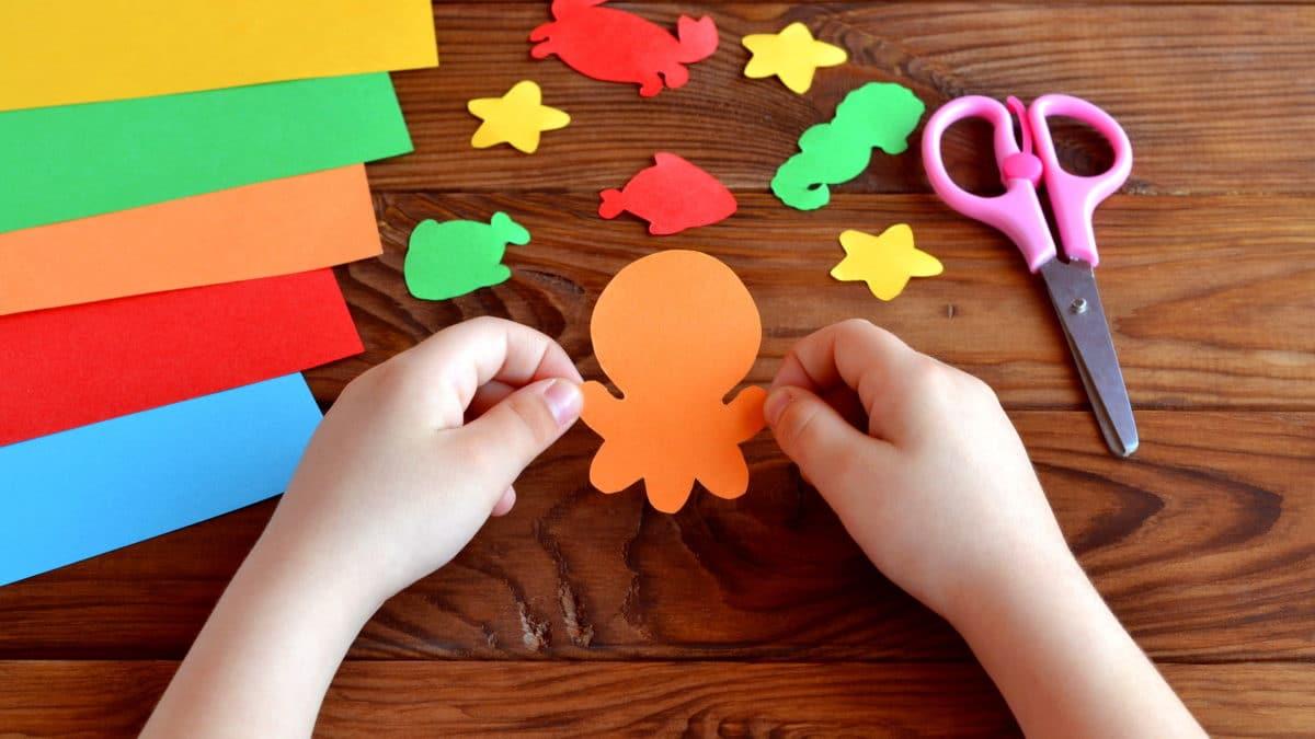 idées bricolage et loisirs créatifs pour enfant de 3 ans, 4 ans, 5 ans, 7 ans, 8 ans et plus sur le thème des vacances et de la mer