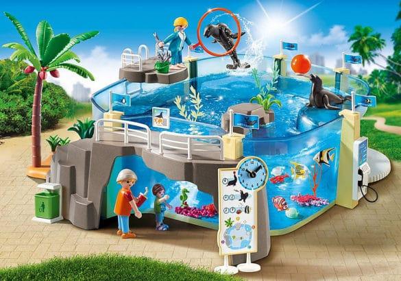 Aquarium playmobil jouet pour enfant