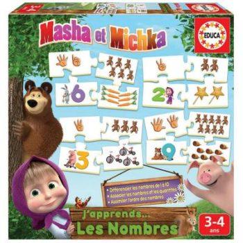 cadeau masha et michka jeu educatif enfant 3 ans, 4 ans, 5 ans maternelle
